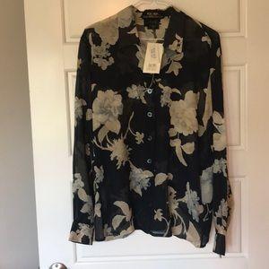 NWT Escada Silk Blouse